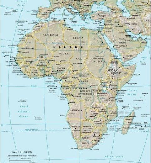 Afrika : izva