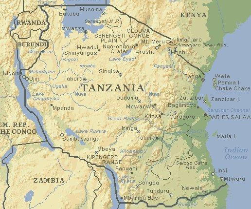 Liwot ke Tanzania