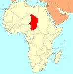 Tchada koe Afrika (NDjamena)
