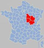 Bourgogne gola koe Franca