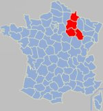 Champagne-Ardenne gola koe Franca