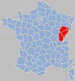 Franche-Comt� gola koe Franca