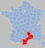 Languedoc-Roussillon gola koe Franca