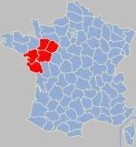 Pays de la Loire gola koe Franca