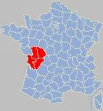 Poitou-Charentes gola koe Franca