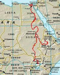 Nil bost koe Afrika