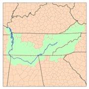Tennessee kuksa koe Lenteamerika