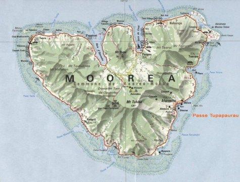 Liwot va Moorea ewala koe Francafa Polinesia