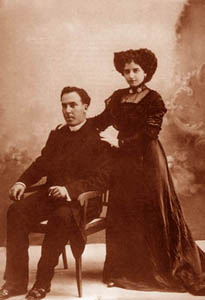 Antonio Machado is Leonor kurenik